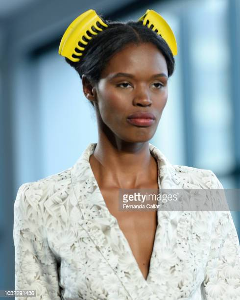 Fashion Details Accessories at the Marcel Ostertag September 2018 show during New York Fashion Week The Showsat Gallery II at Spring Studios on...