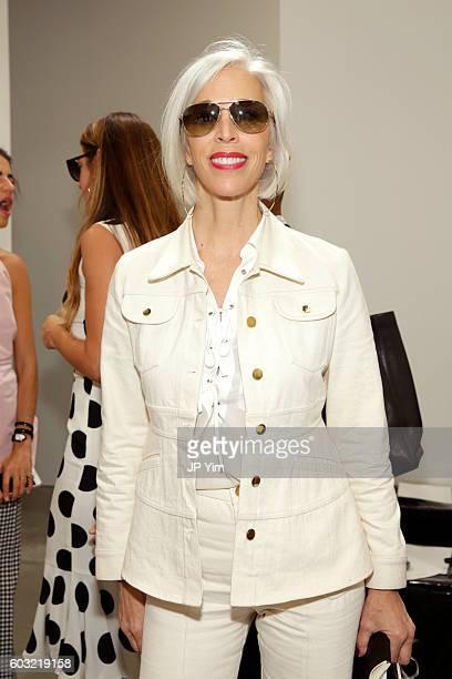Fashion Director Bergdorf Goodman Linda Fargo attends the Proenza Schouler fashion show during New York Fashion Week on September 12 2016 in New York...