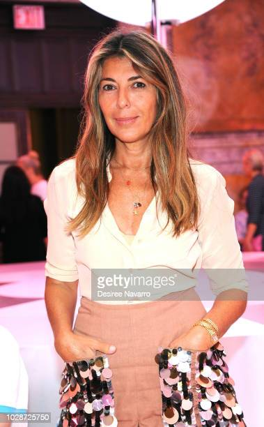 Fashion director Nina Garcia attends the Kate Spade New York Fashion Show during New York Fashion Week at New York Public Library on September 7 2018...