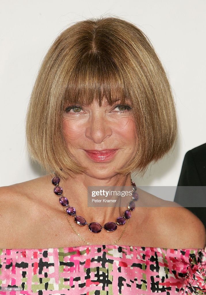 Fashion editor Anna Wintour attends the Conde Nast Media Group's Fourth Annual Fashion Rocks Concert at Radio City Music Hall September 6, 2007 in New York City.
