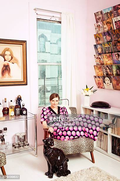 Fashion editor Chelsea Fairless is photographed for Out Magazine on December 8 2015 in New York City