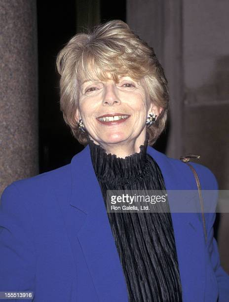 Fashion editor Grace Mirabella attends the Special Preview of the New Restaurant Le Cirque 2000 on April 24 1997 in New York
