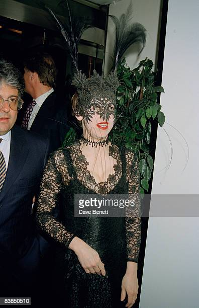 Fashion editor Isabella Blow at the afterparty for 'Richard III' at the Waldorf Hotel in London 23rd April 1996