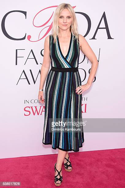 Fashion Editor Laura Brown attends the 2016 CFDA Fashion Awards at the Hammerstein Ballroom on June 6 2016 in New York City