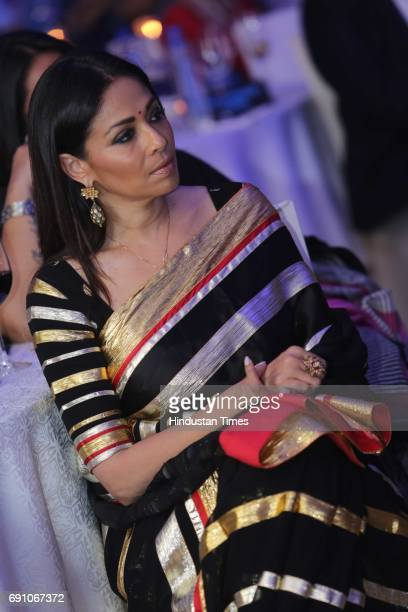 Fashion entrepreneur Kalyani Chawla during the Hindustan Times Game Changer Awards 2017 at Hotel Oberoi on May 24 2017 in Gurgaon India