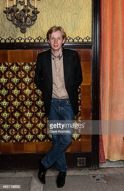 Fashion Evangelist for Tumblr Valentine Uhovski attends the first Tumblr Fashion Honor presented to Rodarte at The Jane Hotel on September 9 2014 in...