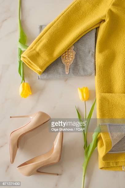 Fashion flat lay