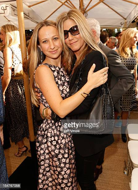 Fashion Fund Finalist Jennifer Meyer and actress Jennifer Aniston attend CFDA/Vogue Fashion Fund Event hosted by Lisa Love and Mark Holgate and...