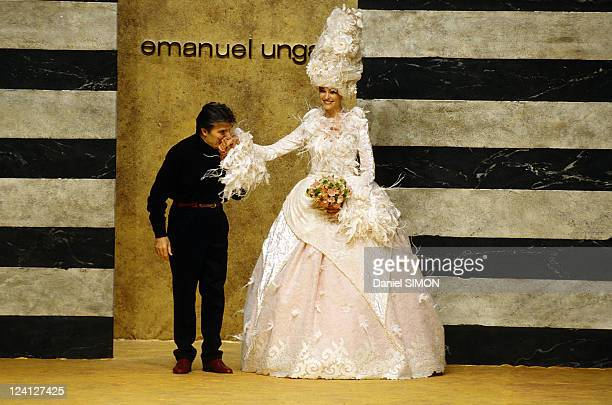 Fashion Haute Couture Fall Winter 97 98 In Paris France On July 06 1997 Emanuel Ungaro