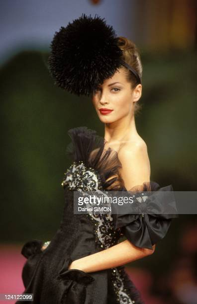 Fashion haute couture spring summer 1992 in Paris France in January 1992 Guy Laroche