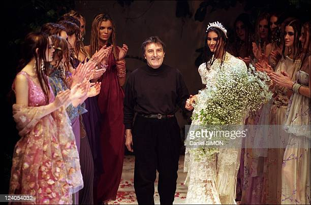 Fashion Haute Couture Spring Summer 1999 In Paris France In January 1999 Designer Emanuel Ungaro