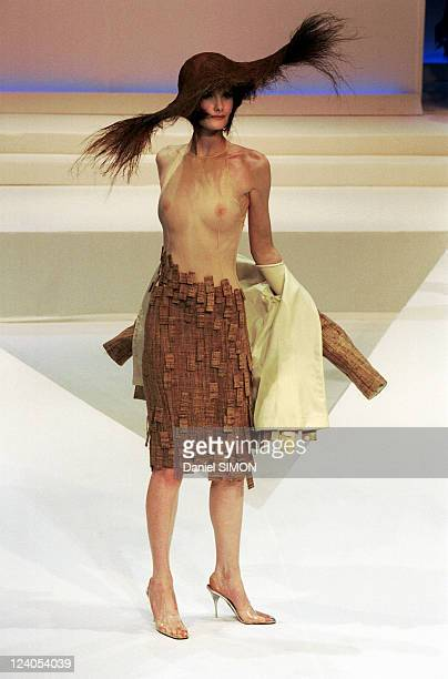 Fashion Haute Couture Spring/Summer 1999 In Paris France In January 1999 Thierry Mugler