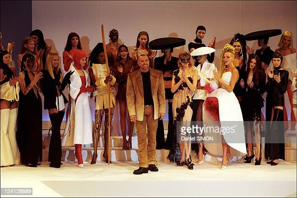 Fashion Haute Couture Spring/Summer 1999 In Paris France In January 1999 Designer Thierry Mugler
