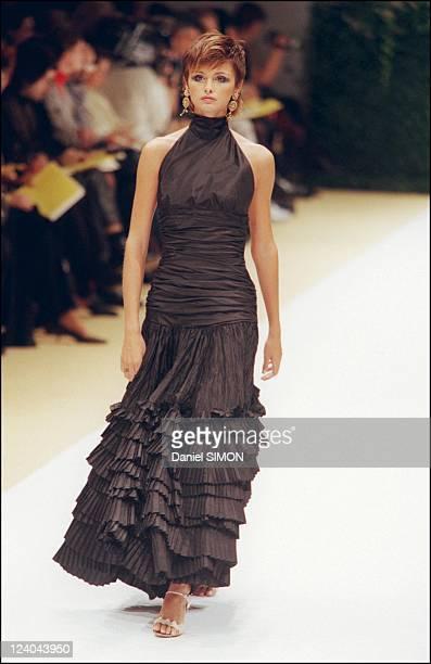 Pierre balmain haute couture spring summer stock photos for Couture france