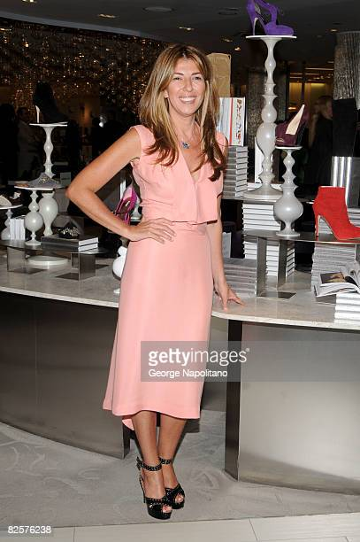 Fashion Icon and author Nina Garcia atends the launch of 'The One Hundred A Guide to the Pieces Every Stylish Woman Must Own' at Saks Fifth Avenue on...