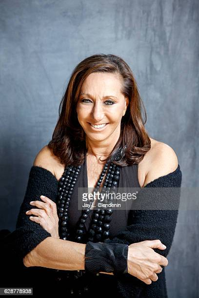 Fashion icon and designer Donna Karan is photographed for Los Angeles Times on October 26 2016 in Los Angeles California PUBLISHED IMAGE CREDIT MUST...