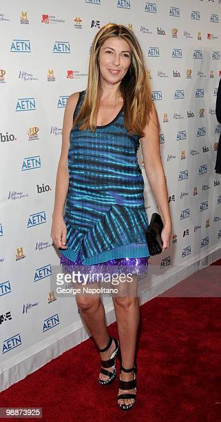 Fashion Icon and TV personality Nina Garcia attends the 2010 AE Upfront at the IAC Building on May 5 2010 in New York City