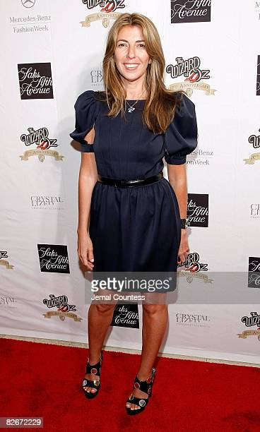 Fashion Icon Nina Garcia attends the Sak's Fifth Avenue Warner Brothers and Swarovski Unveiling of the Ruby Slipper Collection To Commemorate the...
