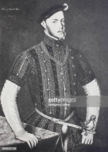 Fashion in spain at the time of philipp II, 1556 - 1598, late renaissance, Mode in Spanien zur Zeit von Philipp II, 1556 - 1598, Spaetrenaissance.