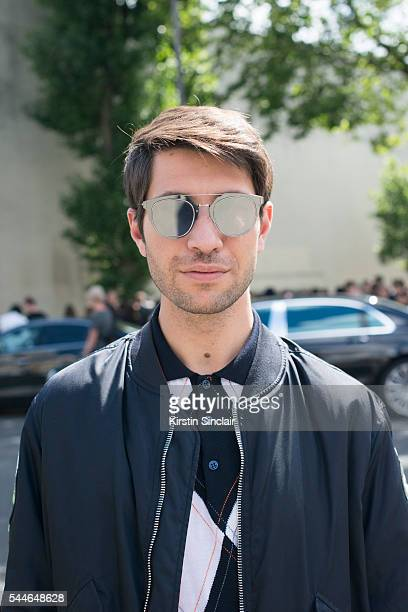 244f3aab6 Fashion Influencer Filippo Fiora wears all Dior on day 4 of Paris  Collections Men on June