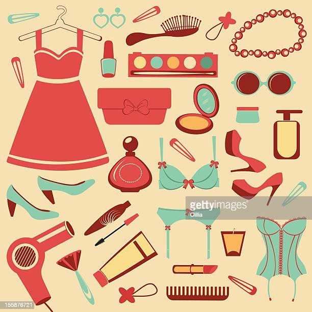 Fashion items set