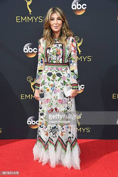 Fashion journalism Nina Garcia attends the 68th Annual Primetime Emmy Awards at Microsoft Theater on September 18 2016 in Los Angeles California