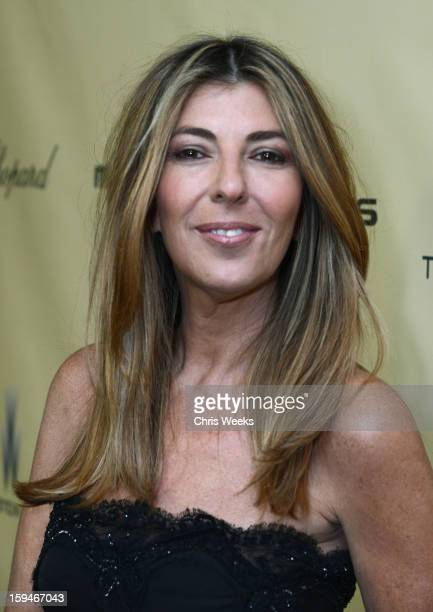 Fashion journalist Nina Garcia attends The Weinstein Company's 2013 Golden Globe Awards after party presented by Chopard HP Laura Mercier Lexus Marie...