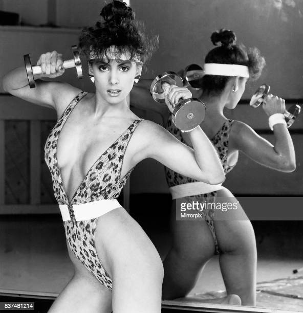 Fashion leopard skin bodysuit leotard January 1987