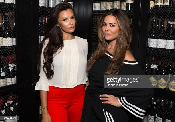 Fashion line owner Ania Danilina and producer Carla DiBello attend at Haute Living Celebrates Josh Duhamel Presented By Westime at AOC on May 19 2017...