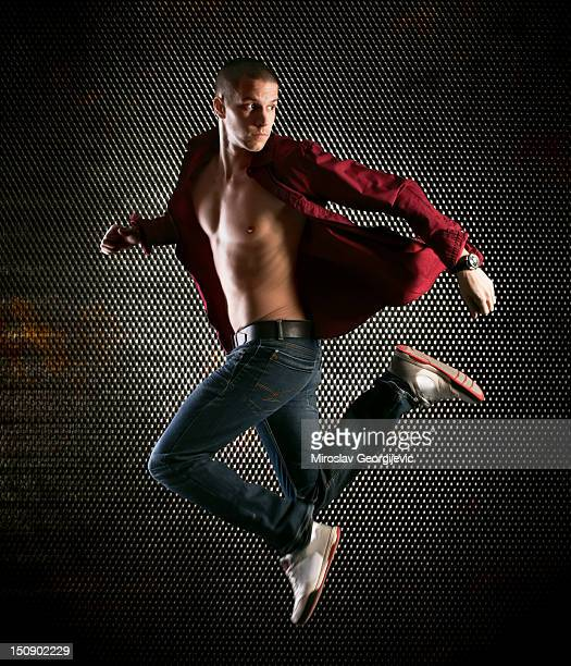 fashion man - all hip hop models stock photos and pictures