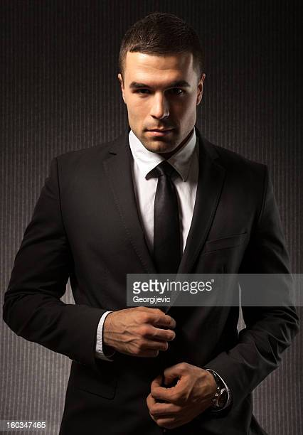 fashion man - most handsome black men stock photos and pictures