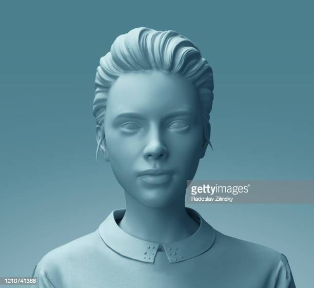 fashion mannequin woman sculpture close up - woman flashing stock pictures, royalty-free photos & images