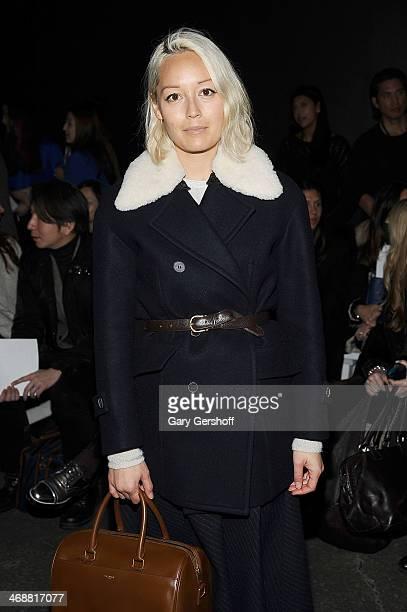Fashion market director, NYLON magazine, Rachel Wang attends the ICB By Prabal Gurung Show during Mercedes-Benz Fashion Week Fall 2014 at Eyebeam on...