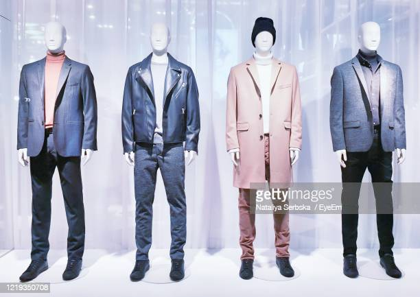 fashion menswear - mannequin stock pictures, royalty-free photos & images