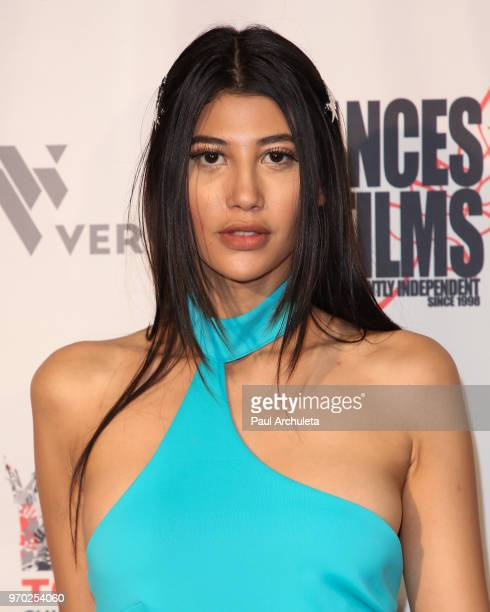 Fashion Model Abla Sofy attends the 2018 'Dances With Films' premiere of 'Reach' at TCL Chinese 6 Theatres on June 8 2018 in Hollywood California
