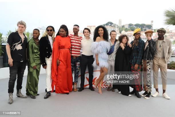 Fashion model, actor and trangender activist Jari Jones , British actor Fionn Whitehead , US actress, model and transgender activist Leyna Bloom , US...