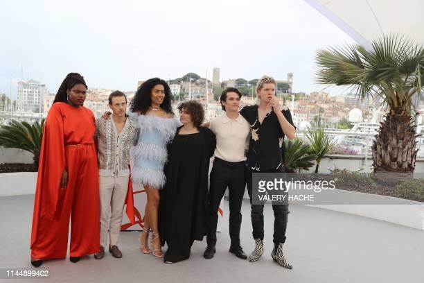 US fashion model actor and trangender activist Jari Jones US actor McCaul Lombardi US actor fashion model and transgender activist Leyna Bloom US...