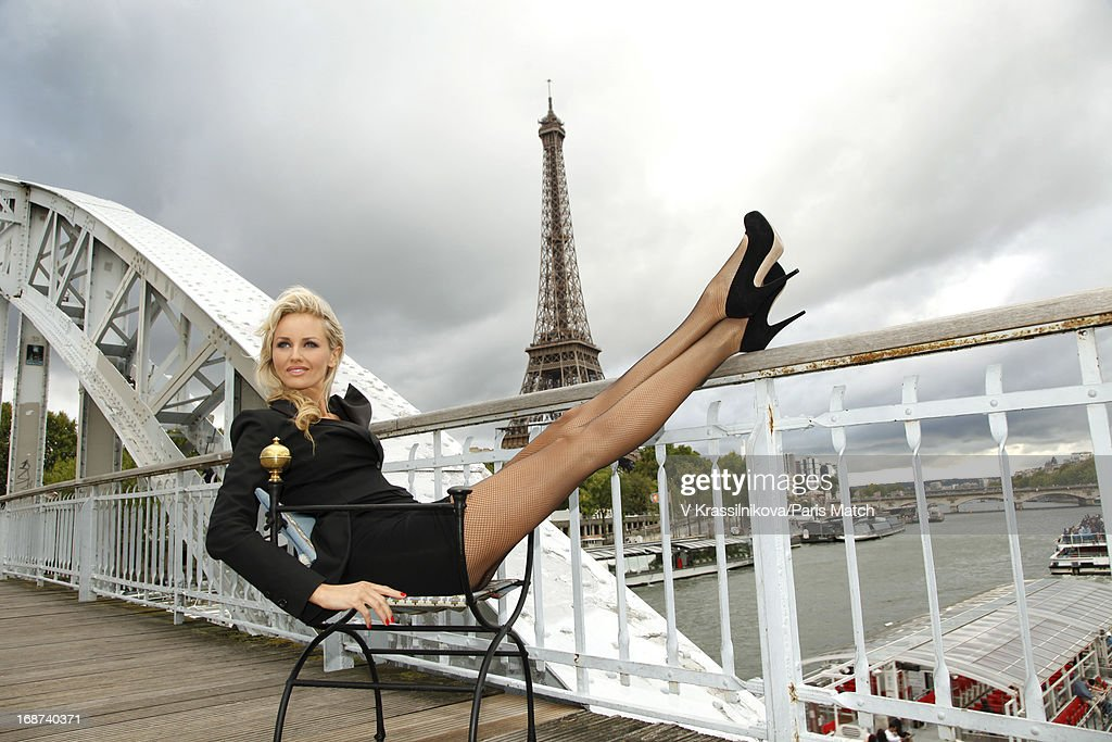 Adriana Karembeu, Paris Match, September 4, 2011