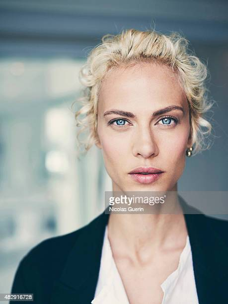 Fashion model and actress Aymeline Valade is photographed on May 19 2015 in Cannes France