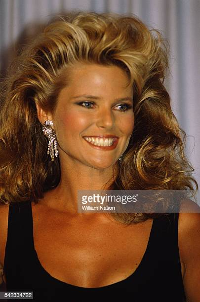 Fashion model and actress Christie Brinkley attends the 56th Academy Awards