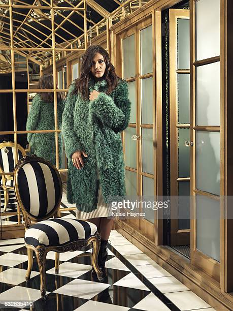 Fashion model and designer Margherita Missoni is photographed for Grazia UK on June 27 2014 in London England
