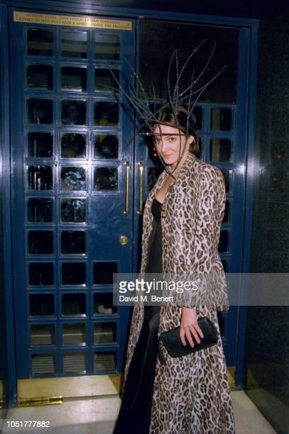 Fashion model Annabelle Neilson attendS Tara Palmer-Tomkinson's James Bond themed birthday party at nightclub Tramp on December 15, 1998 in London,...