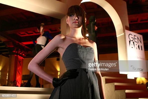 Model wearing Gen Art Fall 2005 during Olympus Fashion