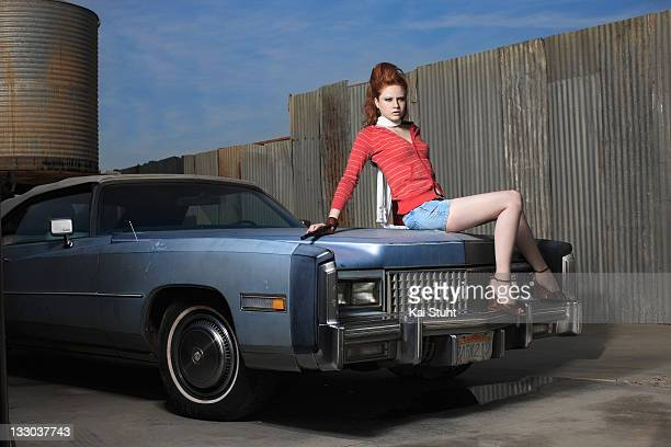 Fashion model Barbara Meier is photographed on November 22 2008 in Las Vegas Nevada