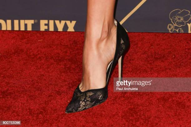 Fashion Model Bojana Krsmanovic Shoe Detail attends the 2017 MAXIM Hot 100 Party at The Hollywood Palladium on June 24 2017 in Los Angeles California
