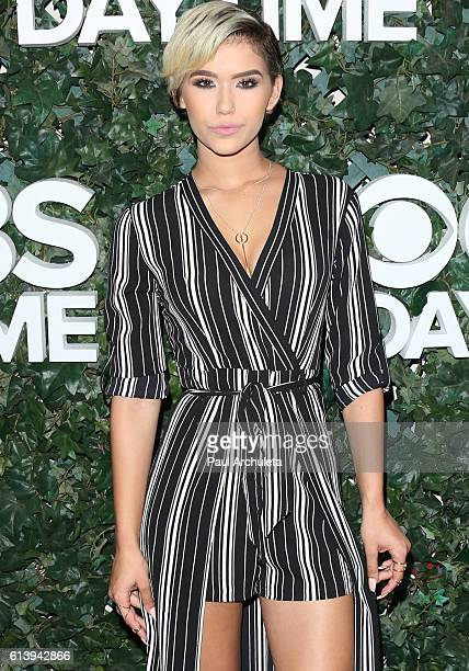 Fashion Model Camia Marie attends the CBS Daytime For 30 Years celebration at The Paley Center for Media on October 10 2016 in Beverly Hills...