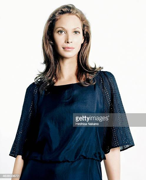 Fashion model Christy Turlington is photographed on July 12 2007 in Tokyo Japan