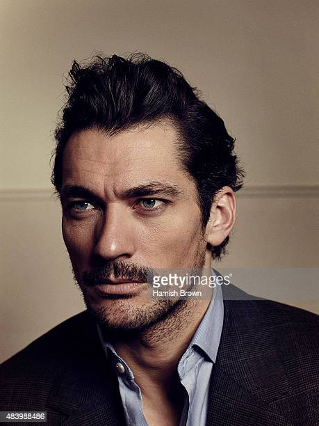 Fashion model David Gandy is photographed for Red magazine on January 15, 2015 in London, England.