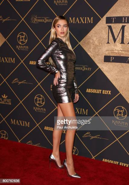 Fashion Model Delilah Hamlin attends the 2017 MAXIM Hot 100 Party at The Hollywood Palladium on