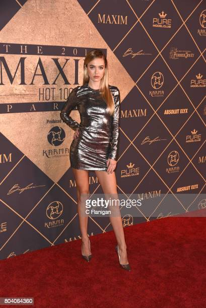 Fashion Model Delilah Hamlin attends the 2017 MAXIM Hot 100 Party at The Hollywood Palladium on June 24 2017 in Los Angeles California